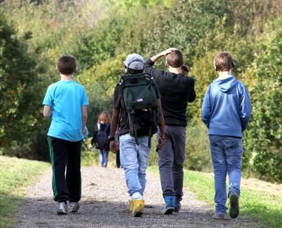 Skoleelever på jagt efter gode historier (2)